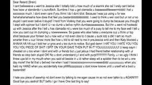 Break Letter Girlfriend dramatic reading of another break up letter youtube