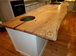live edge wood countertops gallery brooks custom spalted maple live edge countertop