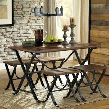 signature design by ashley freimore 5 piece rectangular dining
