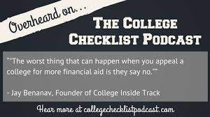how to appeal financial aid awards after being accepted