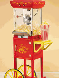 rent popcorn machine fashioned time popcorn machine and cart rental in