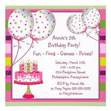 5th birthday invitation wording u2013 gangcraft net