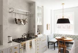 Traditional French Kitchens - gray french kitchen with dining space french kitchen