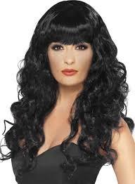 Blonde Wig Halloween Costume Halloween Wig Long Black Curly Hair Wig Long