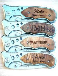 wedding gift knife personalized groomsmen gift groomsman pocket knife groomsmen