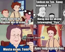 Tom Meme - kuya tom tom sawyer memes facebook