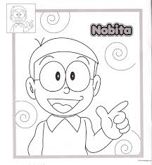 nobita doraemon coloring pagesfree coloring pages for kids free