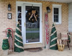 Home Accents Christmas Decorations by Amazing Christmas Garland With Christmas Tree Embellish Red