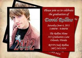 senior graduation announcement templates high school graduation invitation wording dhavalthakur