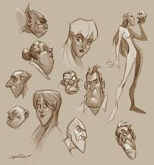 character sketches by preilly on deviantart