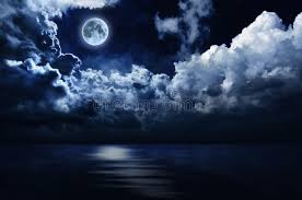 moon and sky water stock photo image of