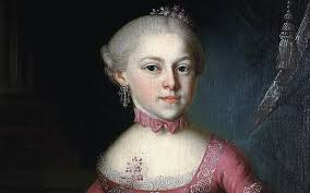 Mozart     s sister      composed works used by younger brother        Telegraph