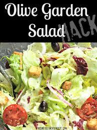 olive garden salad recipe olive garden salad olive gardens