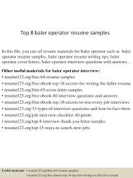 Machine Operator Resume Examples by Power Plant Operator Resume Virtren Com