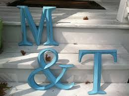 large letters for wall