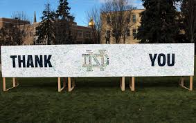 thanksgiving message for friends thank you from notre dame