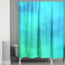 Shower Curtains Bed Bath And Beyond Buy Blue And Green Shower Curtains From Bed Bath U0026 Beyond