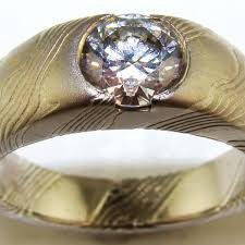 14k palladium white gold 14k palladium white gold sterling mokume ring the jewelers guild