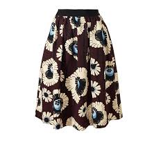 cotton skirt orla kiely usa clothing sale skirts trousers silk