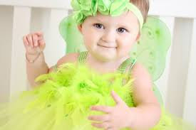 Adorable Tinkerbell Costume Tutu Dress With Wings And Headband