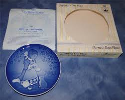 1985 grondahl children s day barnets dag plate ebay