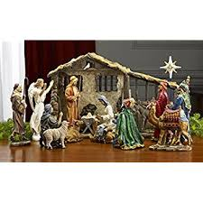 deluxe edition 16 10 inch nativity set