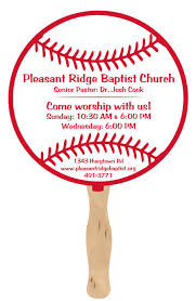 custom church fans circle fans customized imprinted logo promotion choice
