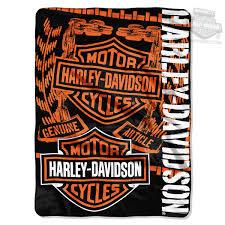 barnett harley davidson throw blankets