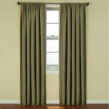 Style Selections Thermal Blackout Curtains Rod Pocket Curtains U0026 Drapes Window Treatments The Home Depot