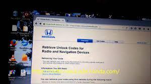 what is the code for honda pilot radio honda pilot reenable radio with security code diy