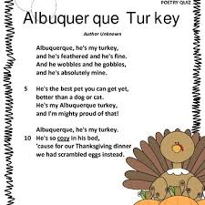 this is a poem to be used around thanksgiving it is