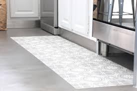 tapie de cuisine tapis vinyl cuisine meilleur idées de conception de maison