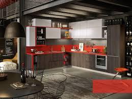 cozinha integral com puxadores integrados strip abaco by