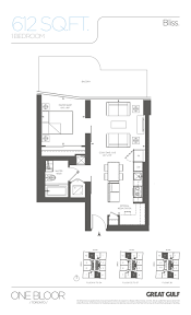 floor plans toronto one bloor condos talkcondo
