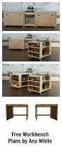 garage workbench workbench construction plans you can diy in