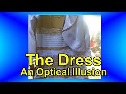 optical illusion dress the dress an optical illusion
