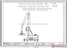 sennebogen operation manual part manual electrical and hydraulic
