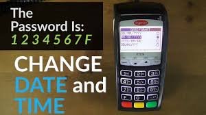 ingenico siege social ingenico ict220 terminal how to change the date and