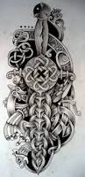 celtic knot rose tattoo design photos pictures and sketches