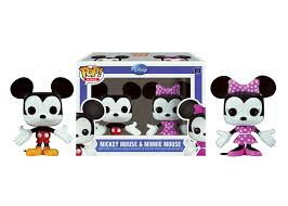 mini pop disney 2 pk mickey u0026 minnie mouse funko