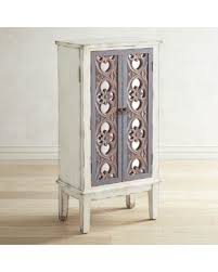 jewlery armoire mirror sweet deal on pier 1 imports cosette mirrored jewelry armoire