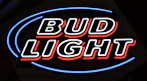 bud light lighted sign large bud light beer logo lighted led sign not neon for sale in