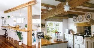 cuisine en bois blanc combiner bois et blanc dans la cuisine voici 20 idées