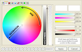 color selection absolute color picker ax control hsb radial