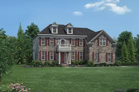 Impressive Design 7 Colonial Farmhouse Newtown Pa New Homes For Sale Dutchess Farm Estates