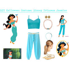 Princess Jasmine Halloween Costume Women Diy Halloween Costume Disney Princess Jasmine Polyvore