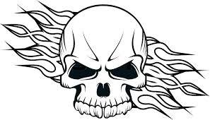 printable coloring pages sugar skulls coloring pages of skulls flaming skull coloring pages free printable