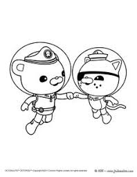 awesome tweak bunny from the octonauts coloring page cookies