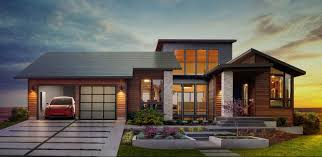Flat Tile Roof Pictures by A Look At All Of Tesla U0027s New Solar Roof Products Gallery Electrek
