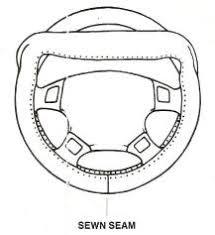 corvette steering wheel cover corvette steering wheel cover made of the finest leather free sles